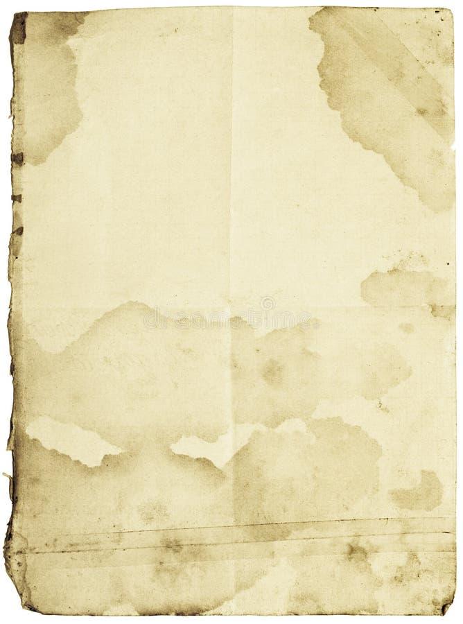 纸减速火箭 免版税库存照片