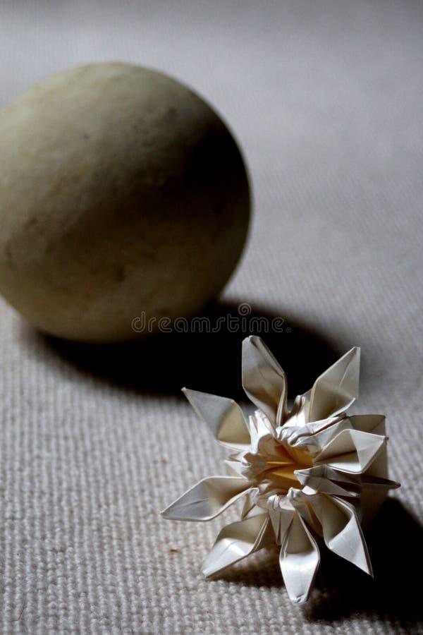 纸和石头 库存图片