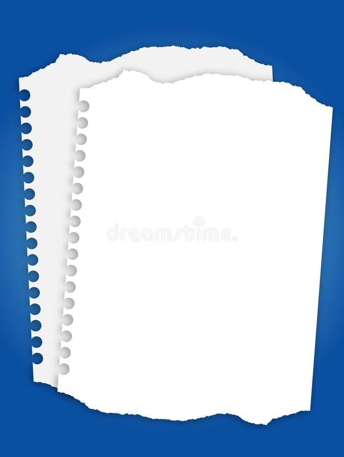 纸张 向量例证