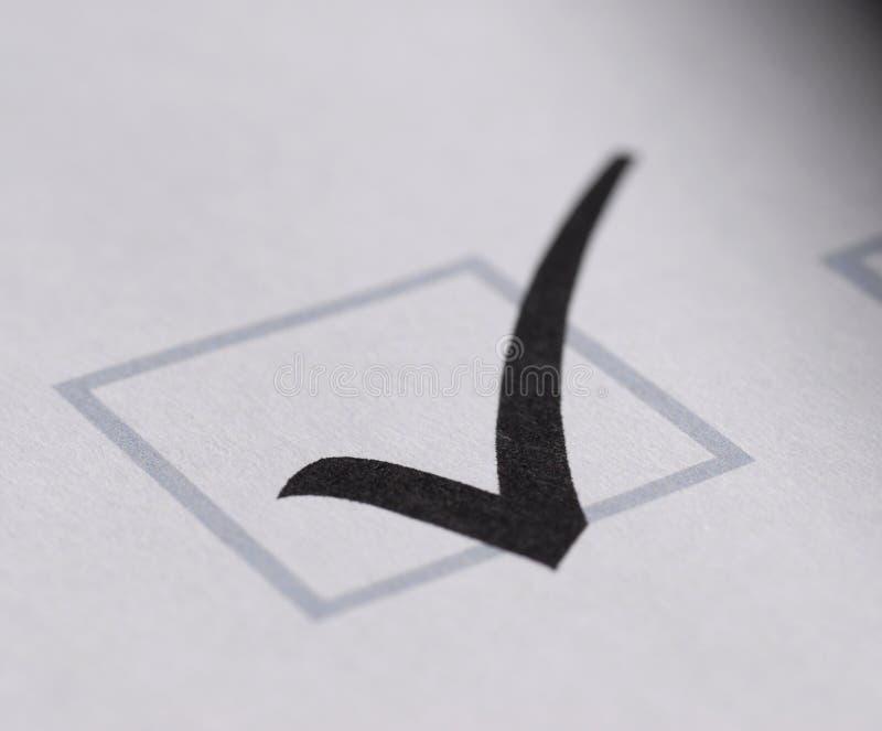 纸形状验证白色 库存图片