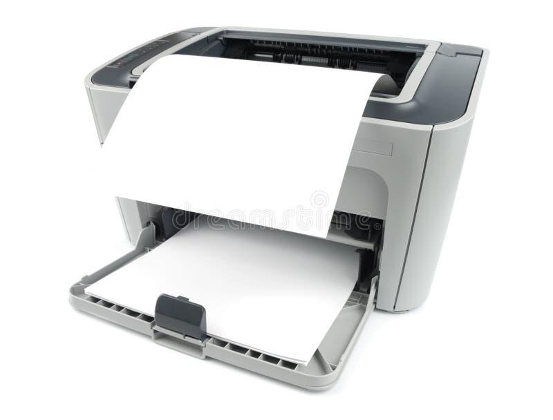 纸打印机 库存图片