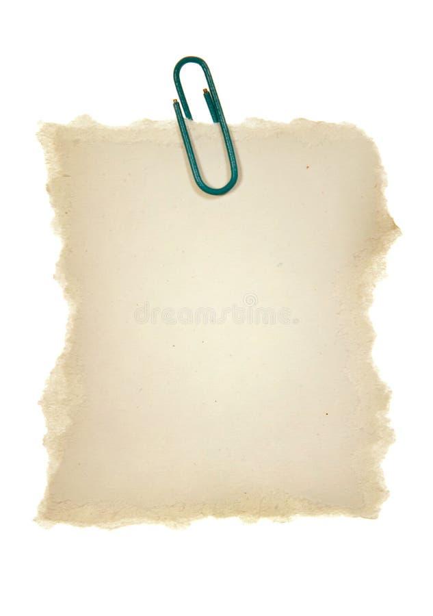 纸板夹子 库存照片