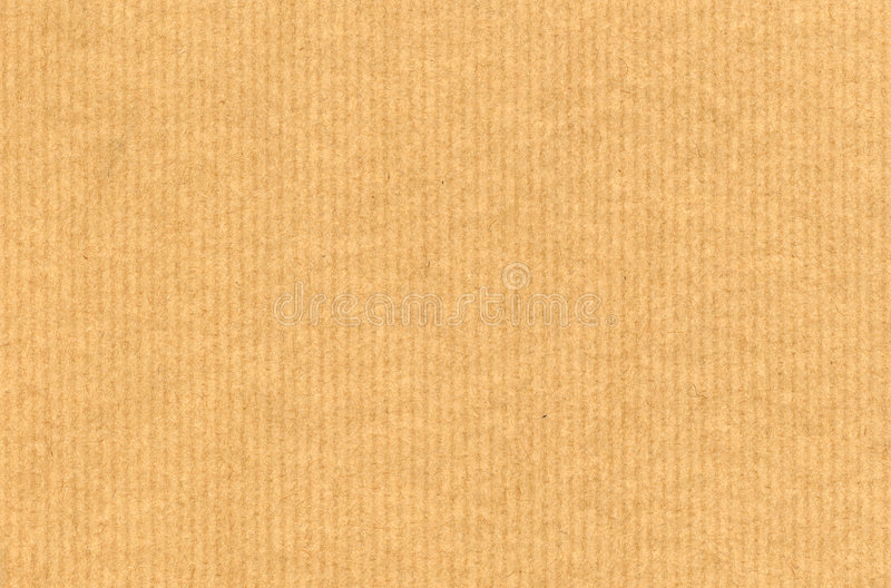 纸板成波状 库存图片