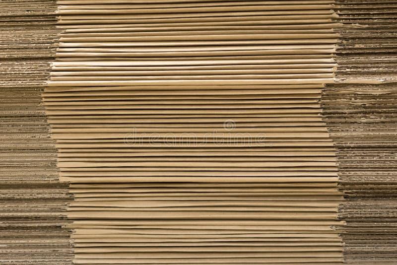纸板板料背景  免版税库存照片