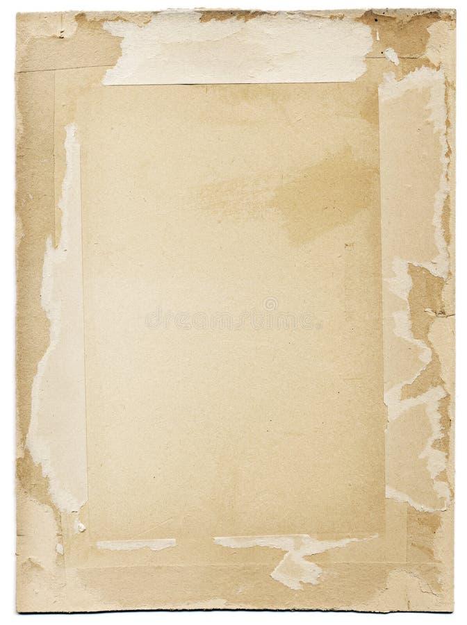 纸板框架grunge 免版税图库摄影
