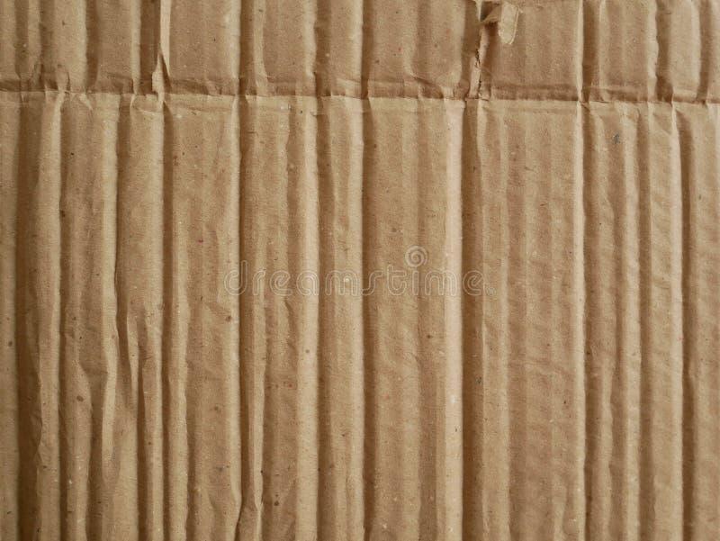 纸板纹理背景,包装纸箱子纹理 免版税库存图片