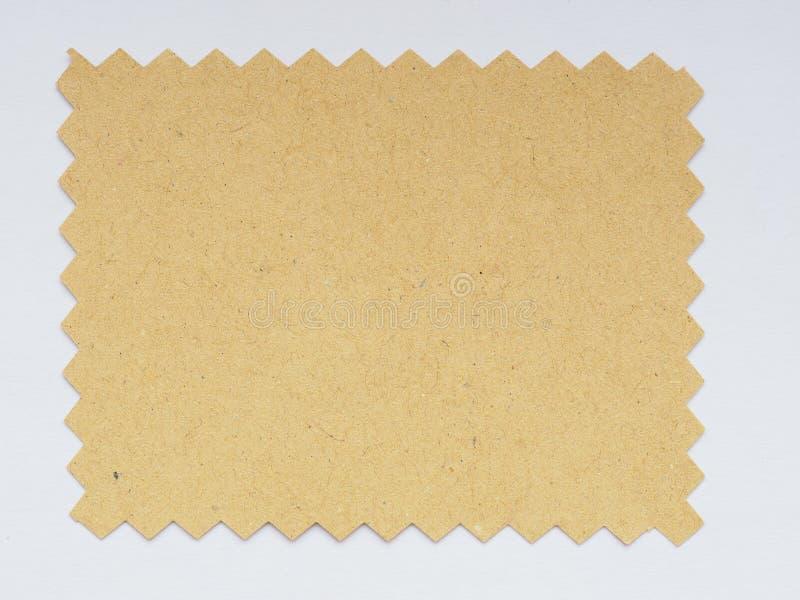 纸样片 免版税库存图片