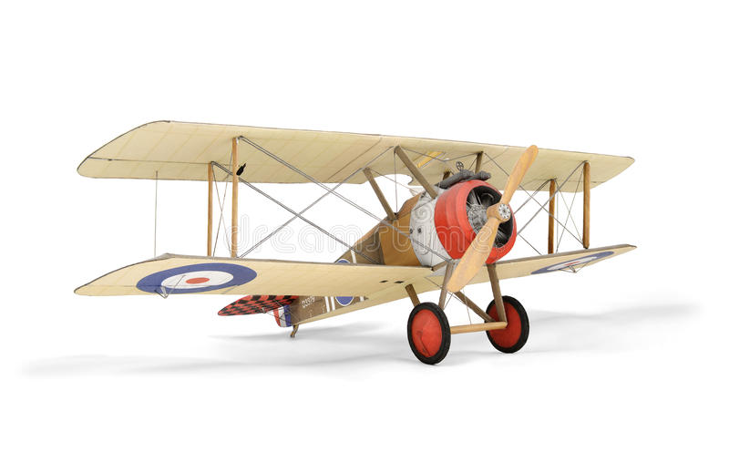 纸模型飞机 向量例证