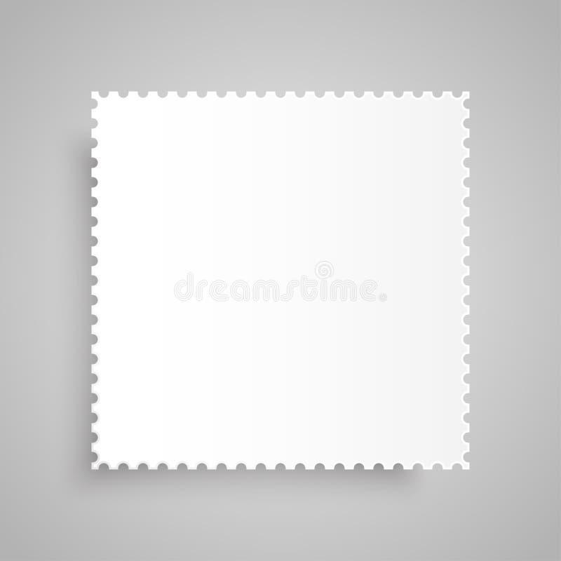 纸横幅 向量 大模型 邮票 皇族释放例证