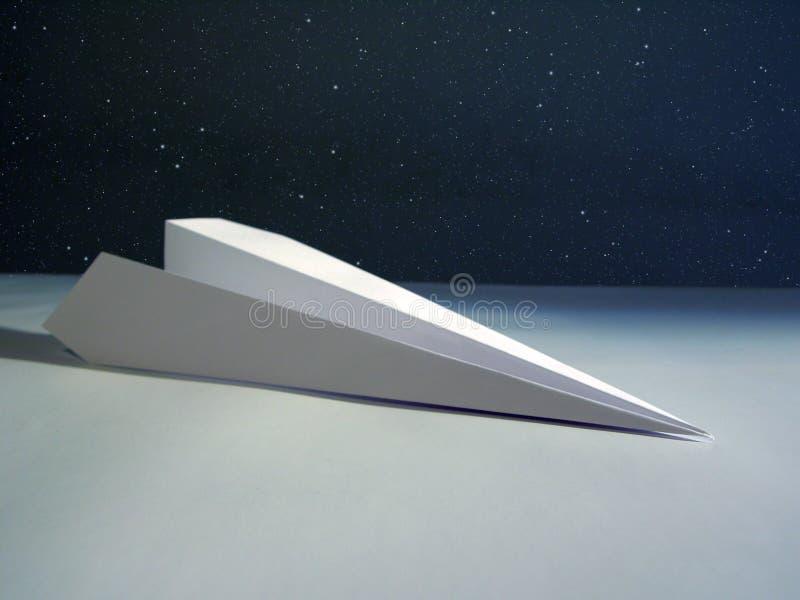 纸火箭 库存照片