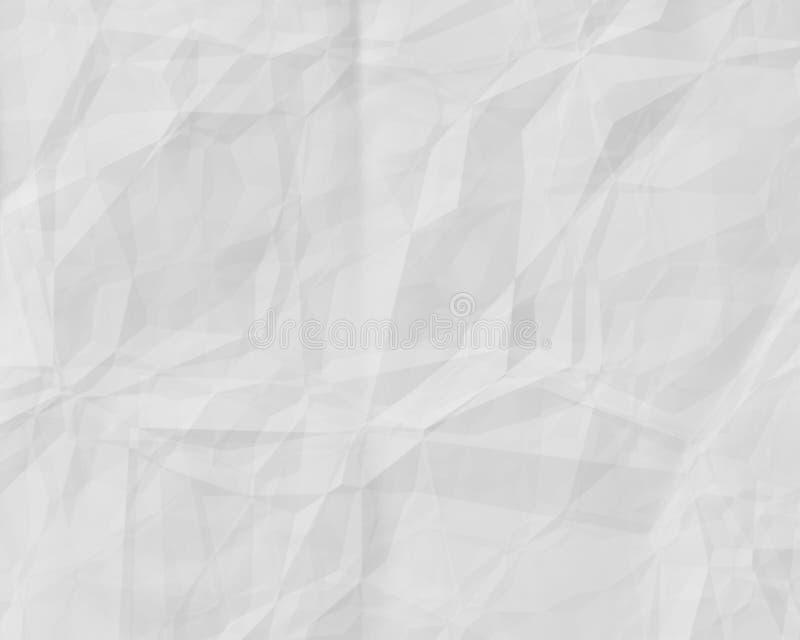 纸白色 库存例证