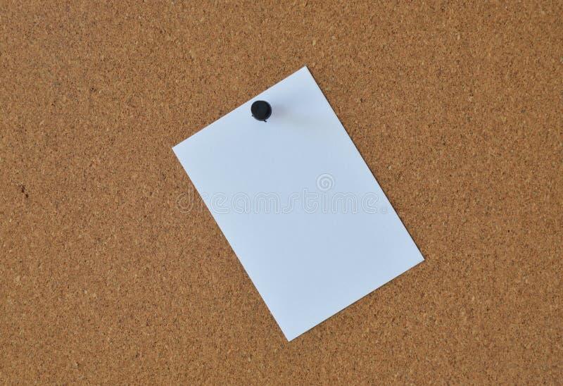纸笔记在船上 图库摄影