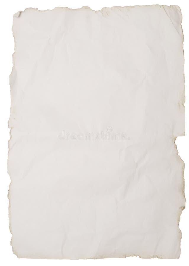 纸粗砺 免版税图库摄影
