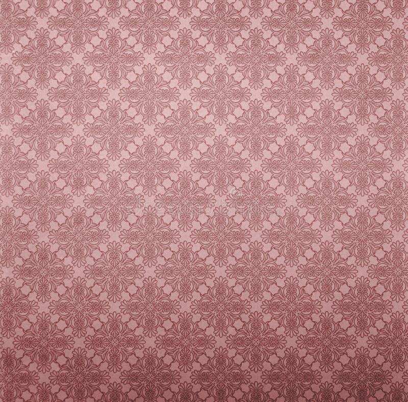 纸红色墙壁 免版税库存照片
