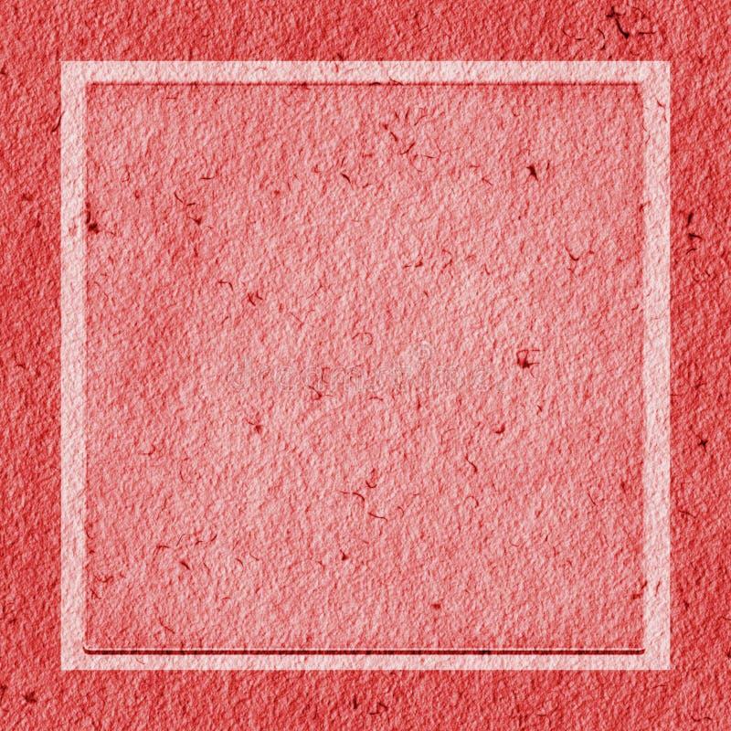 纸红色纹理 库存图片