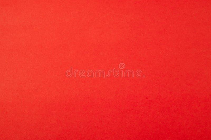 纸红色纹理 免版税库存图片