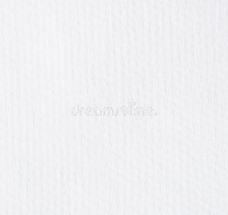 纸纹理毛巾白色 免版税库存图片