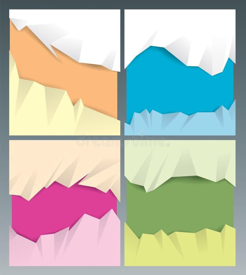Download 纸背景 向量例证. 插画 包括有 五颜六色, 剪贴薄, 设计, 裂口, 艺术, 抽象, 模板, 空间, 撕毁 - 30330696