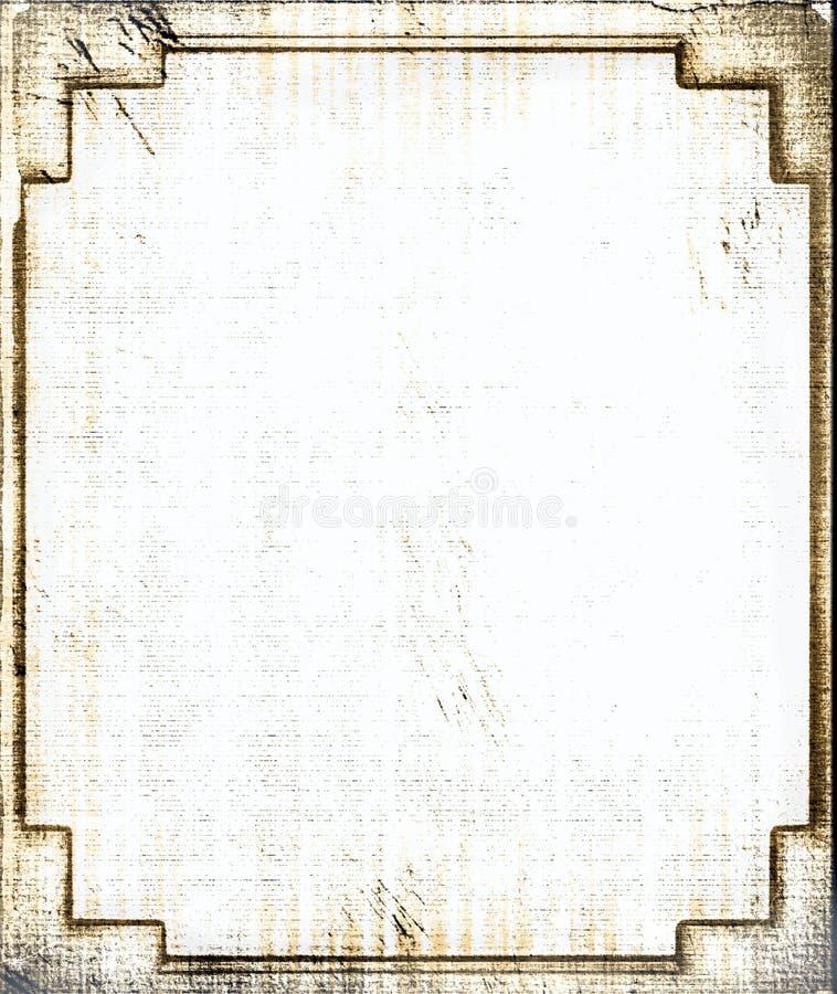 纸葡萄酒 免版税库存图片