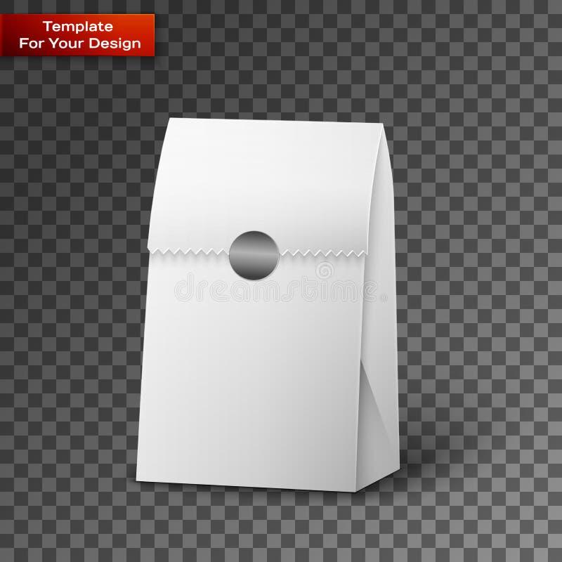 纸袋包裹例证 库存例证