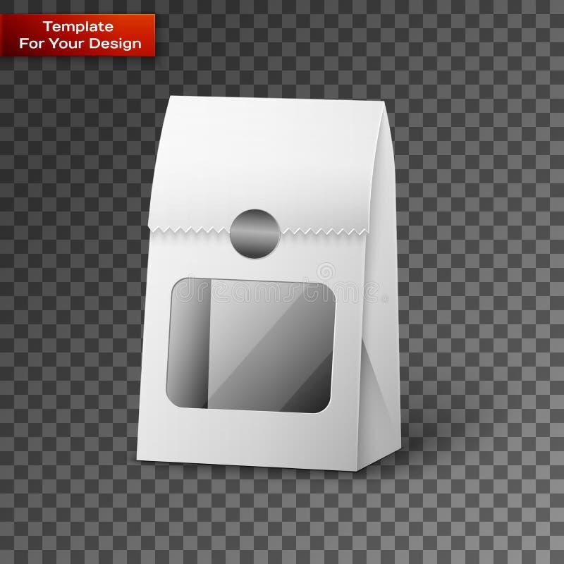纸袋包裹例证 向量例证