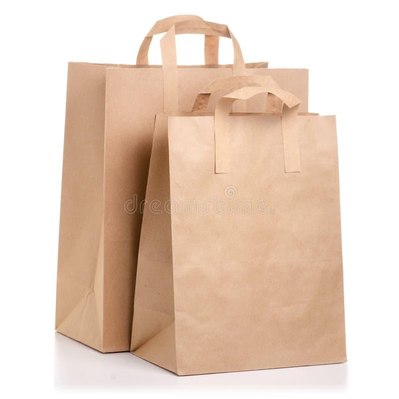 纸袋包裹 免版税图库摄影