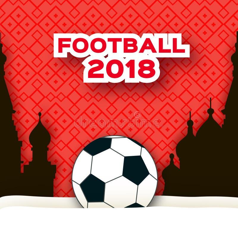 纸裁减样式的足球运动员 Origami体育 向量例证