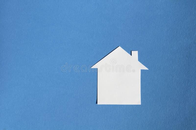 纸议院  免版税库存图片