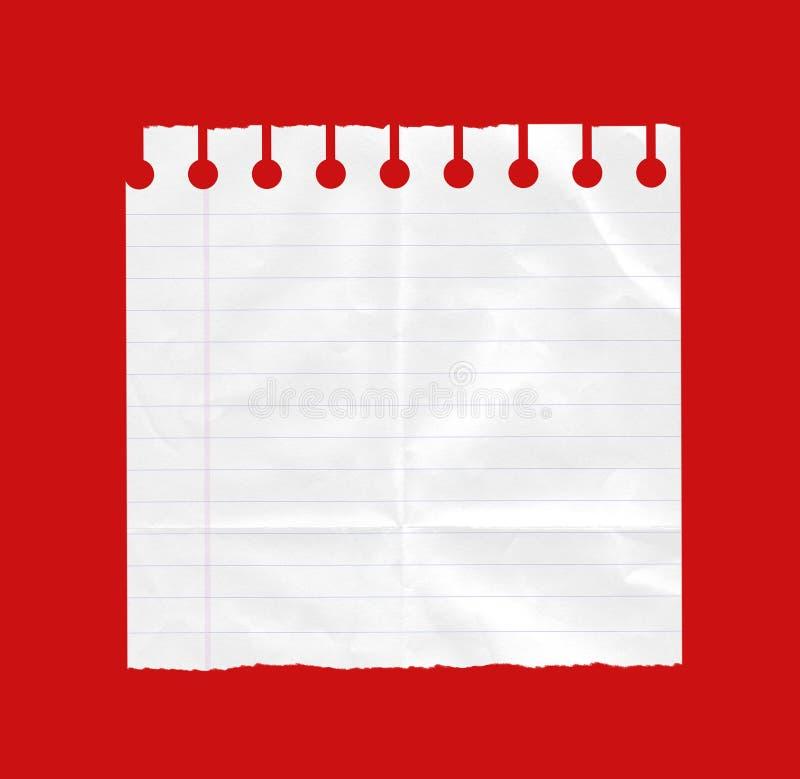 纸页白色 免版税图库摄影