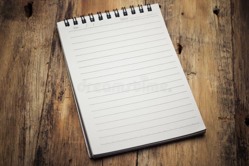纸页笔记本 免版税库存照片