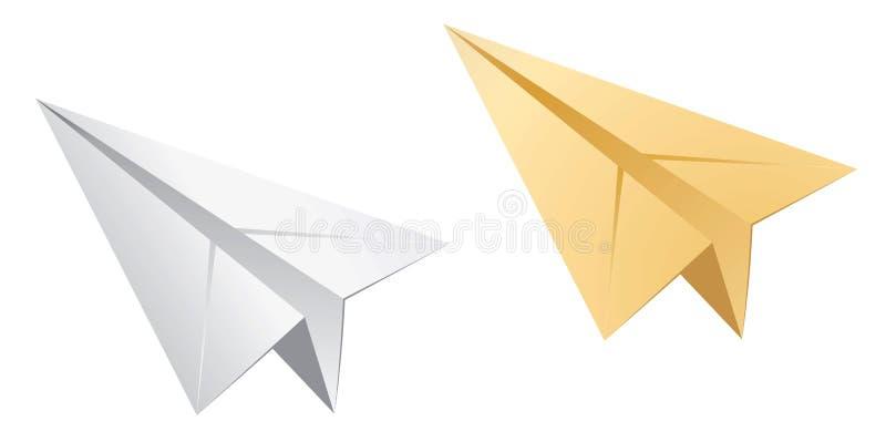 纸飞机 皇族释放例证