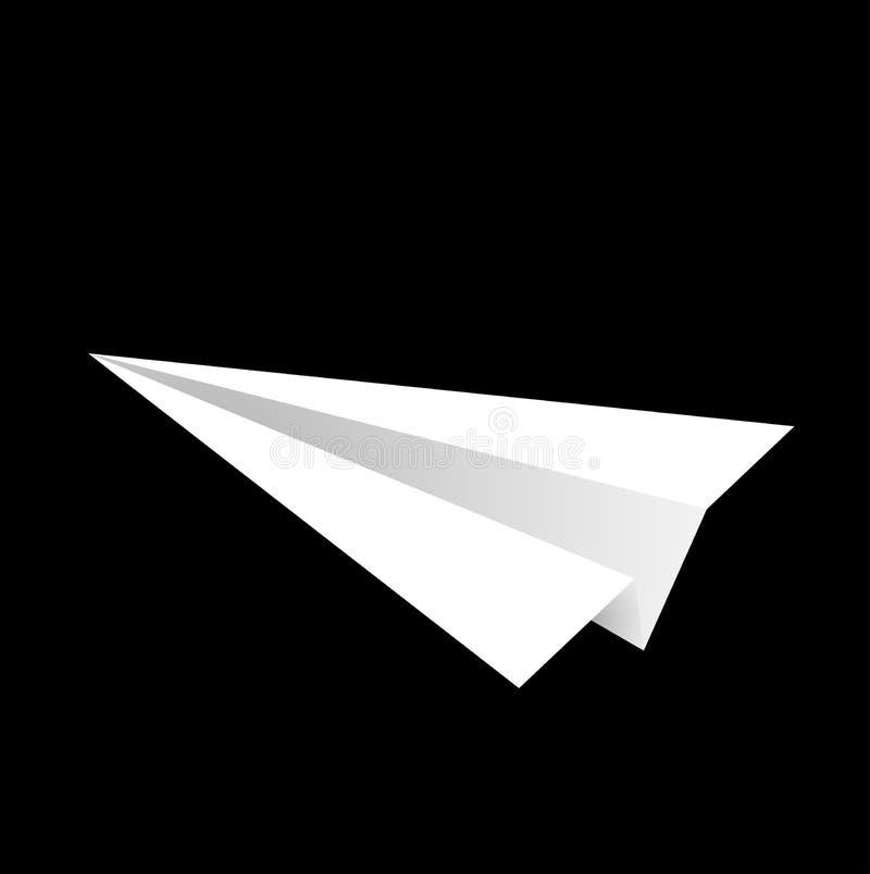 纸飞机 库存例证