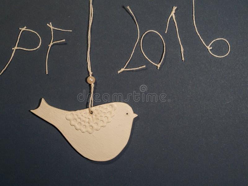 纸鸟明信片题材 向量例证