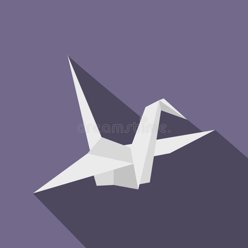 纸鸠象,平的样式 向量例证
