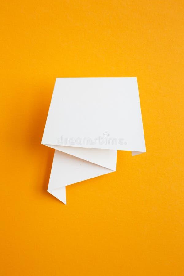 纸贴纸 免版税库存图片