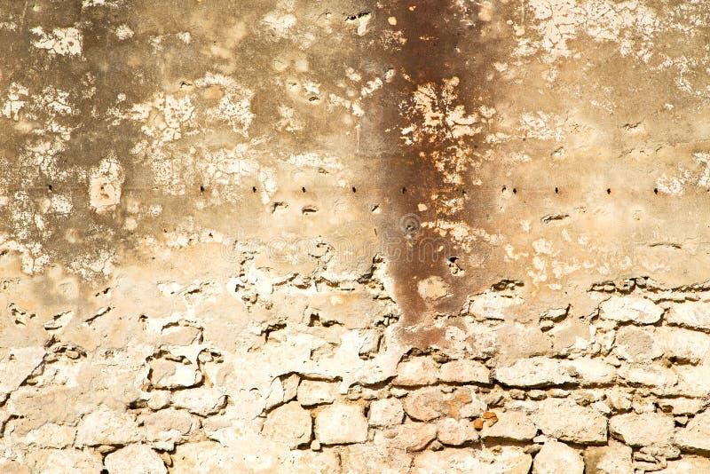 纹理墙壁在非洲的摩洛哥 皇族释放例证