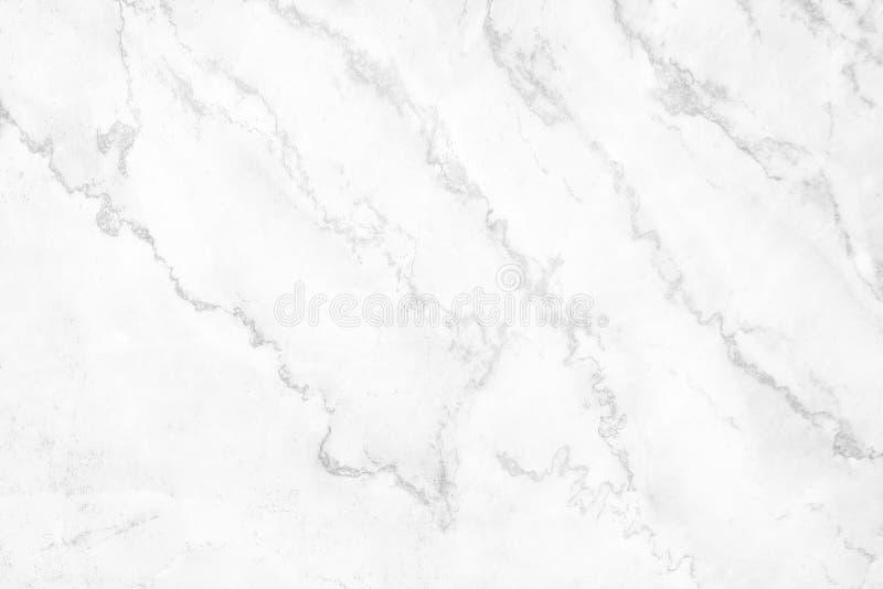 纹理大理石仿造摘要,白色或者灰色和黑卷曲无缝背景的 库存图片