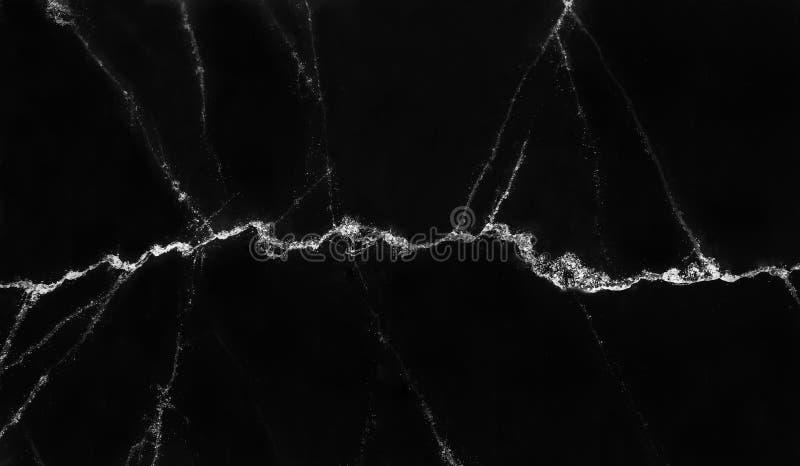 纹理或背景的自然黑白大理石样式 免版税库存图片