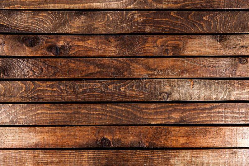 纹理或背景的黑暗的木头 免版税库存图片