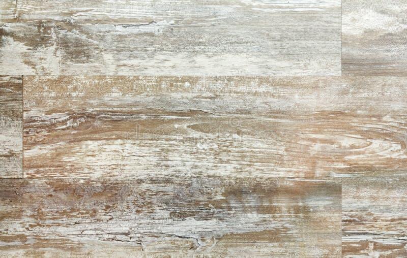 纹理木木条地板背景 免版税库存图片