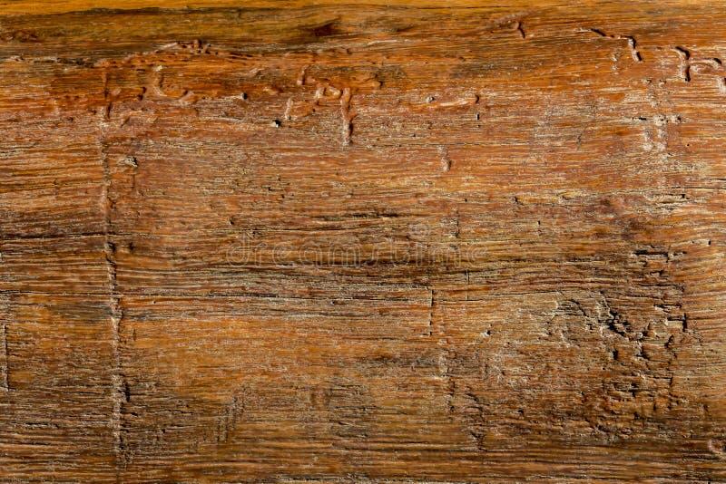 纹理木用途如自然 纹理或背景的葡萄酒棕色木板条 免版税库存图片