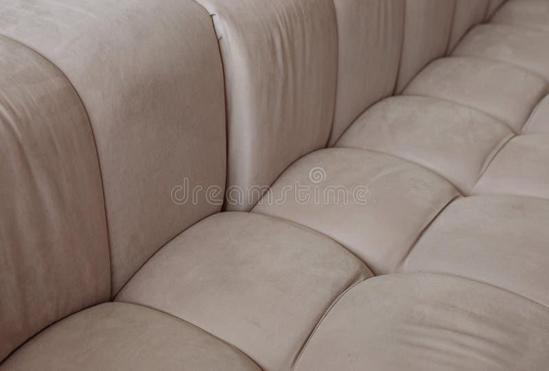 纹理沙发纺织品软的样式质量缝 库存照片