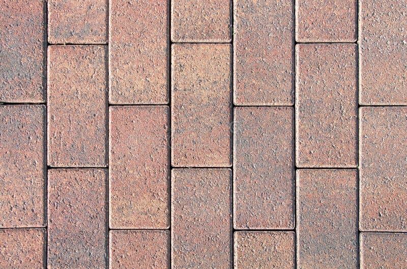纹理石铺 被铺的小径 抽象背景 免版税库存图片