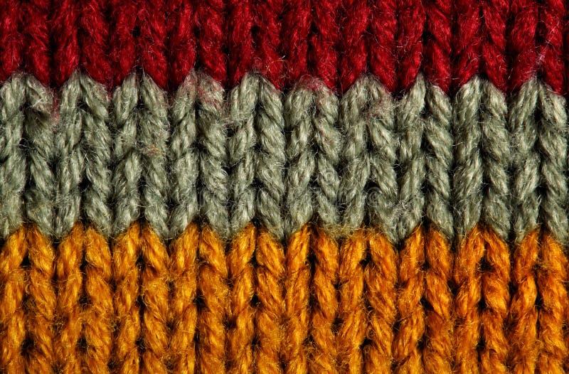 纹理羊毛 免版税库存图片