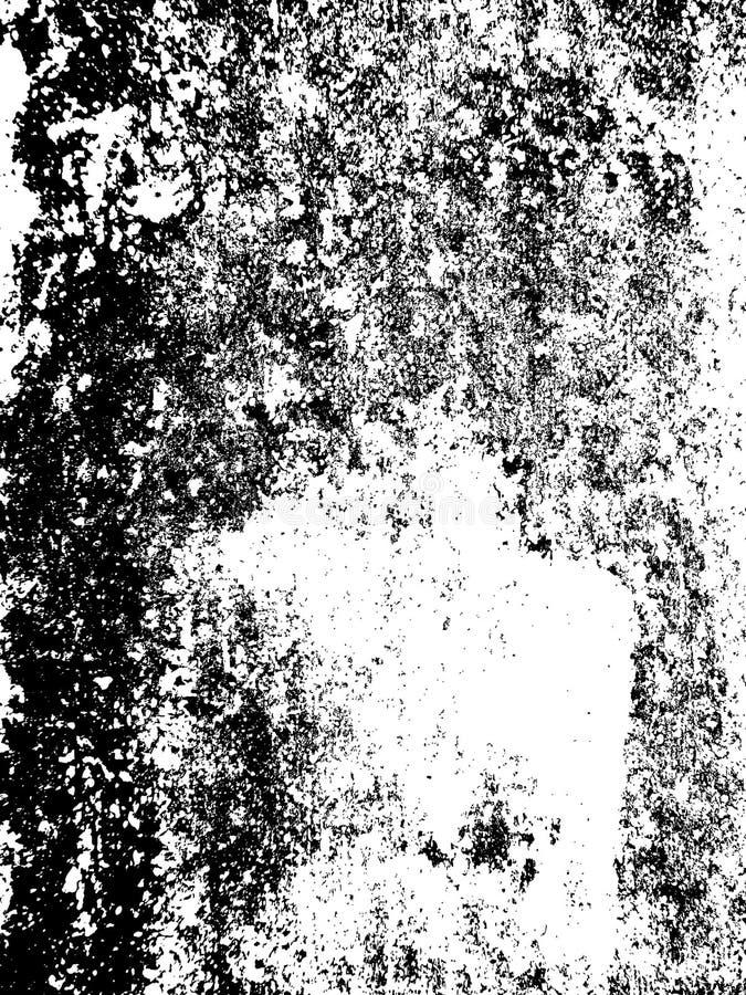 纹理背景以破裂和抓痕 皇族释放例证