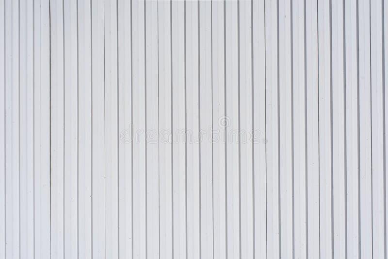 纹理背景的白色塑料侧面板 库存照片