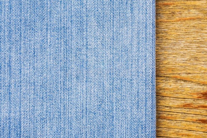 纹理蓝色牛仔裤 库存图片