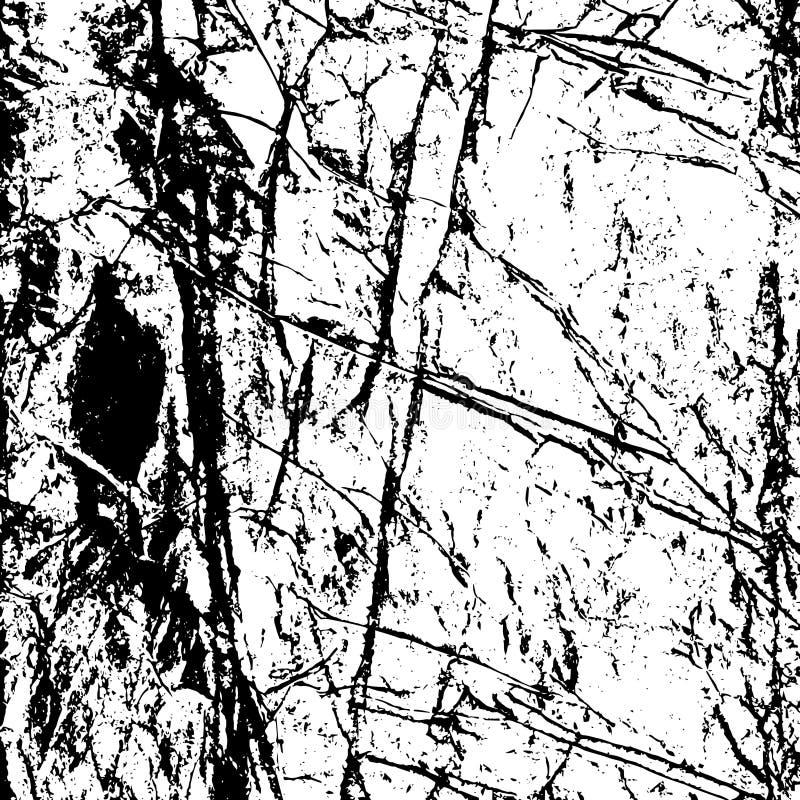 纹理被弄皱的纸2 向量例证