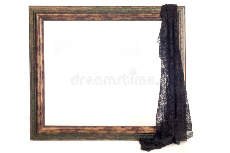 纹理,背景,样式 图片框架在一白色backg的 图库摄影