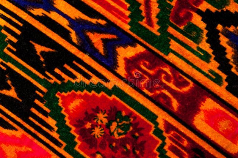 纹理,背景,样式 布料乌兹别克人主题 印第安织品 库存照片